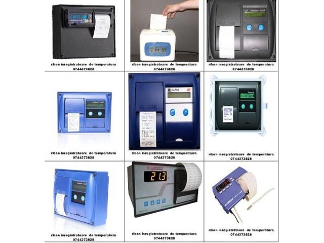 Benzi tusate si role hartie Imprimante Thermo King, Transcan, Datacold Carrier, Termograf, Touchprin