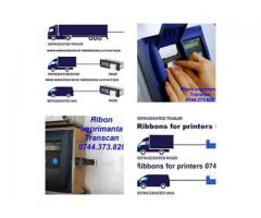 Ribon (banda tus) rola hartie pentru inregistrator Transcan si Thermo King, Datacold, Carrier, Touch