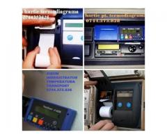 Ribon scriere si rola hartie Transcan, Thermo King , Euroscan, Cargo-Print , Carrier Transicold, Ter