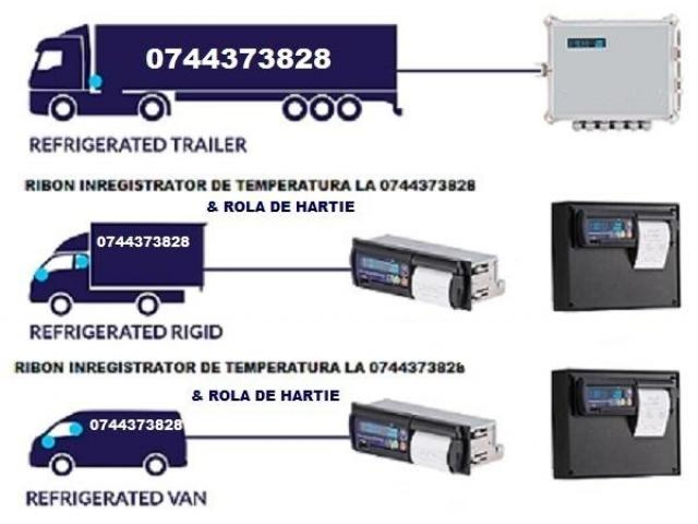 Cartus tusat si Rola hartie TOUCHPRINT THERMO KING, DATACOLD CARRIER, THERMO KING TKDL, TRANSCAN, ES