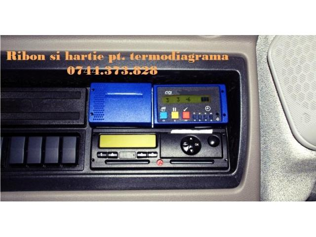 Cartus tusat si Rola hartie DPS THERMO KING, VLT, TERMOGRAF, DATACOLD CARRIER, TRANSCAN, TOUCHPRINT