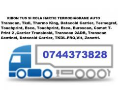 Cartus tusat si Rola hartie TRANSCAN, TERMOGRAF, TKDL THERMO KING, ESCO DR, DATACOLD CARRIER,  TOUCH