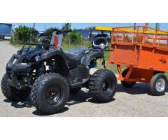 ATV Grizzly Imperial 3+1 Treapta de forta , Import Germania