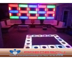 Ring Dans LED Disco Club . Predescu Rebel Design