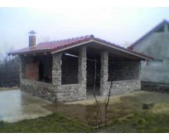 Teren intravilan, 4000mp + casa in rosu, Santaul-Mare