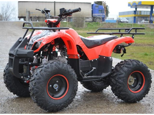 ATV 125cc ASTRAL Warrior Semiautomatik, Import Germania