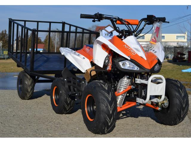 ATV KXD 125cc Leopard RG7, import germania