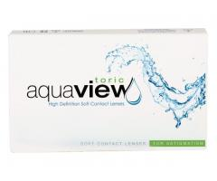 Lentile de contact AquaView Toric de la 62.99 ron, online, magazin Optilen